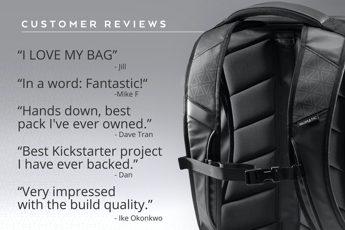 7b46e23f1c The NOMATIC Messenger and Laptop Bags by NOMATIC — Kickstarter