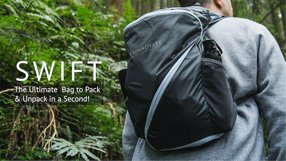 SWIFT - The Ultimate Bag to Pack & Unpack in a Second