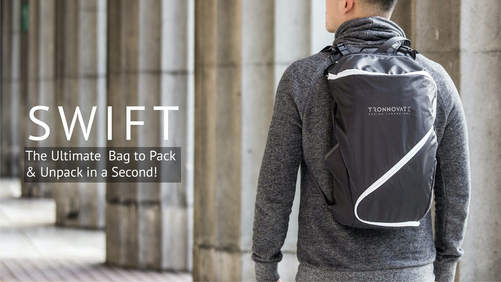 SWIFT - The Ultimate Bag to Pack & Unpack in a Second project video thumbnail