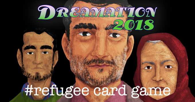 We will be demoing #refugee card game at Dreamation 2018 in New Jersey! Thursday, February 22 - Sunday, February 25, 2018