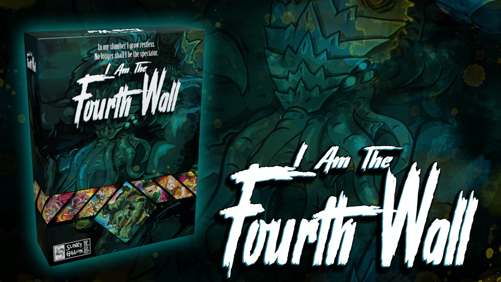 I Am The Fourth Wall - Asymmetrical Cthulhu Horror Card Game project video thumbnail