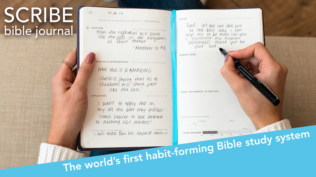 Scribe Bible Journal Get Your Quiet Times Done By Lyfebooks