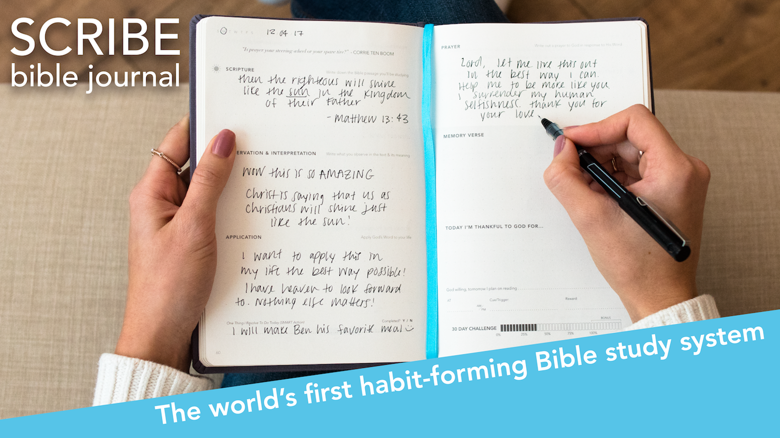 Making time to read the Bible everyday can be hard. Meet the world's first HABIT-FORMING Bible study system for busy Christians.