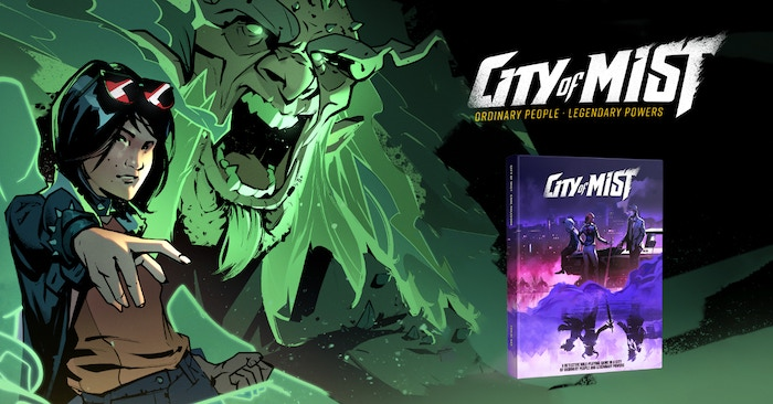 Investigate strange cases and unleash legendary powers in this noir tabletop RPG, set in a city populated by modern-day legends.