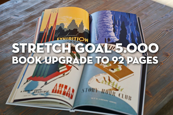 NEW STRETCH GOAL : UPGRADE TO 92 PAGES!