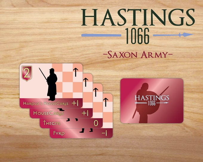 Saxon Army Cards Sample