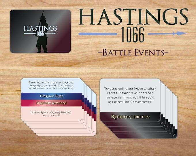 Hastings 1066 game by worthington publishing kickstarter battle event cards sample reheart Gallery