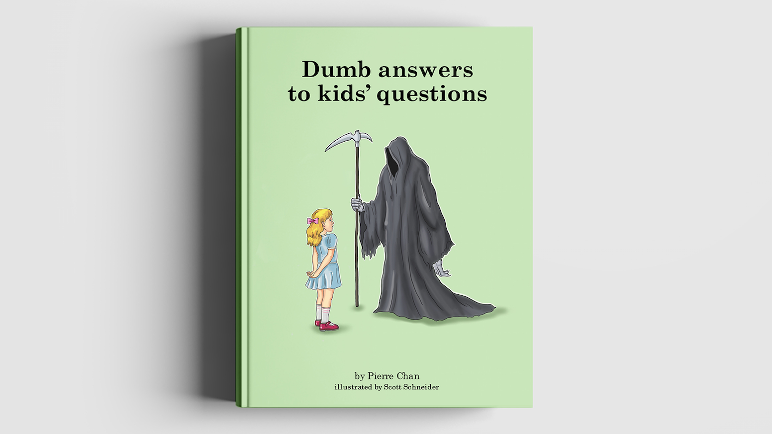 Kids ask a lot of mind-numbingly dumb questions. This book gives them some even dumber answers.