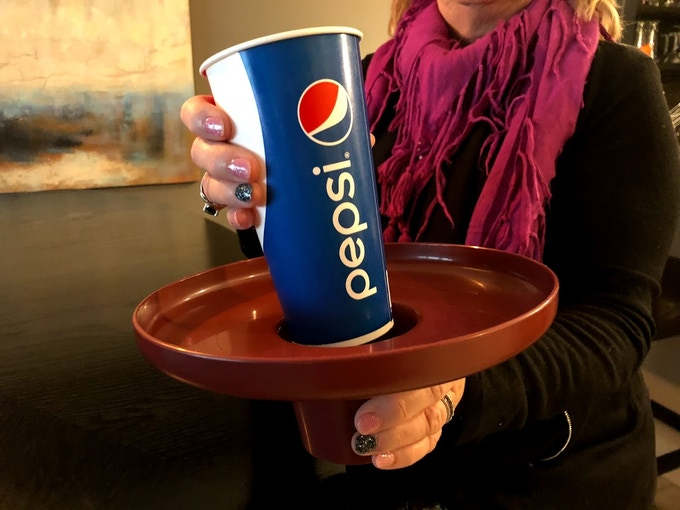 Works with almost any Cup, Pint Glass, Water Bottle, Beer/Pop Can, Beer Bottle w/Cuzzi