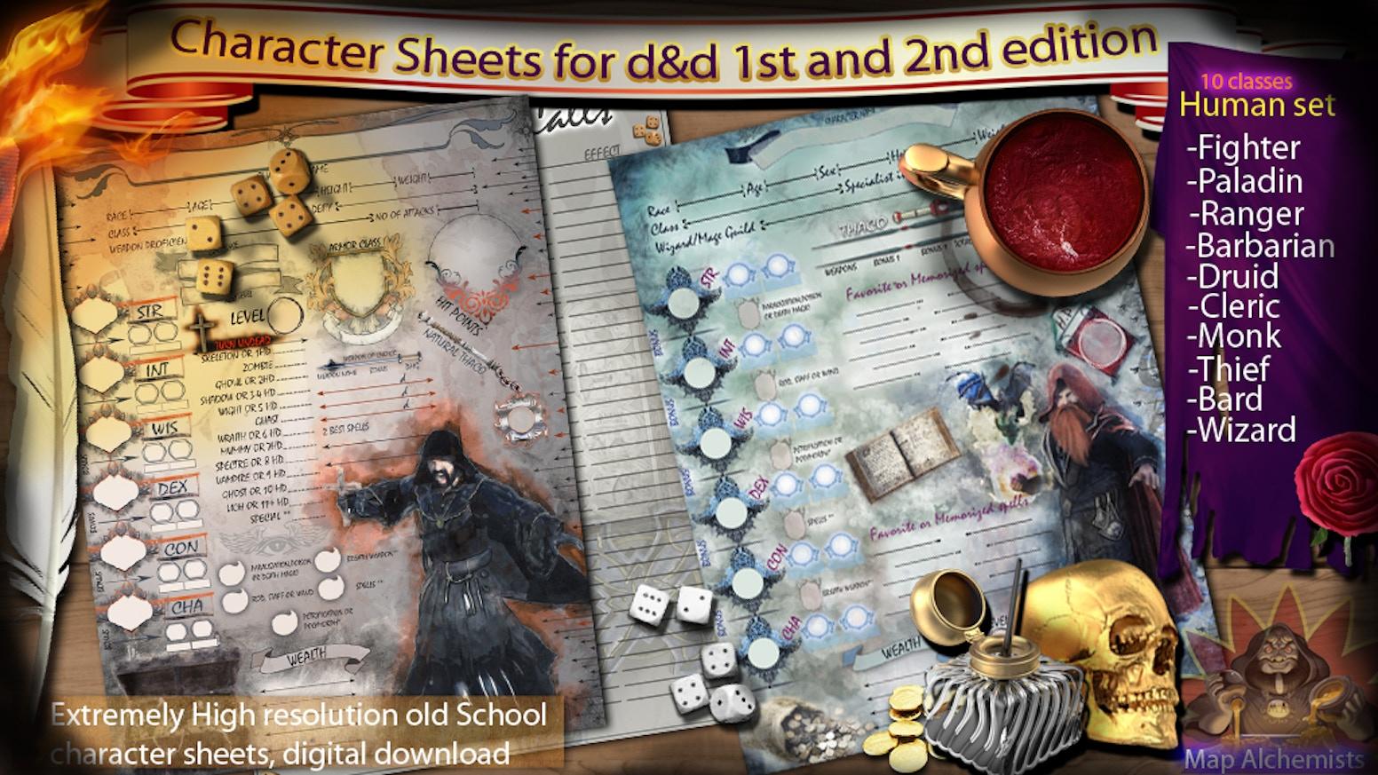 ad&d 2e complete set of 26 books