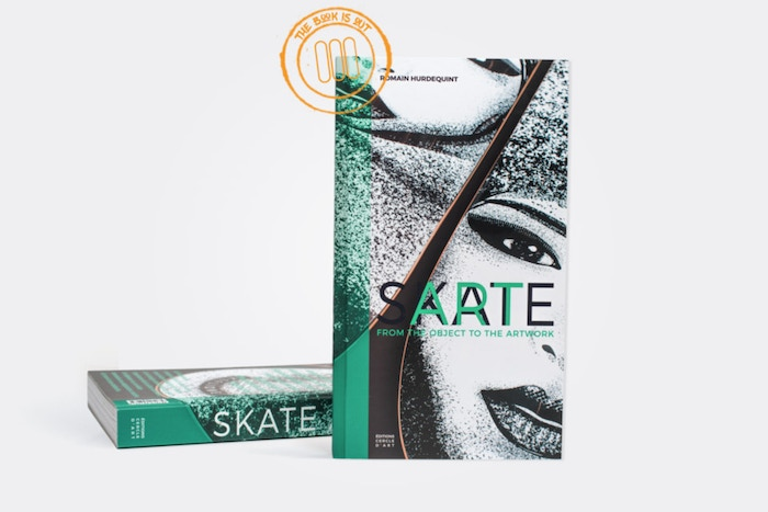 A 320-page book of skateboards, that have been illustrated, engraved, cut & detourned by artists from all over the world, in EN/FR.