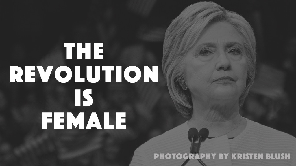 The Revolution Is Female project video thumbnail