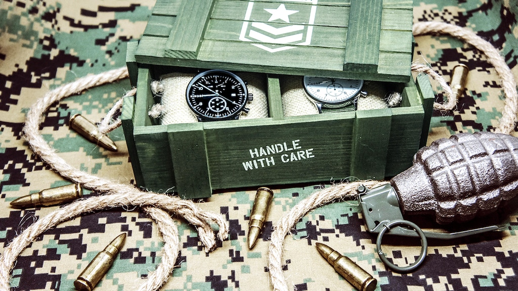 "The ""MS1 Military"" - A Complete Set with 2 Watches project video thumbnail"