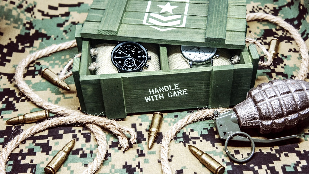 """The """"MS1 Military"""" - A Complete Set with 2 Watches project video thumbnail"""