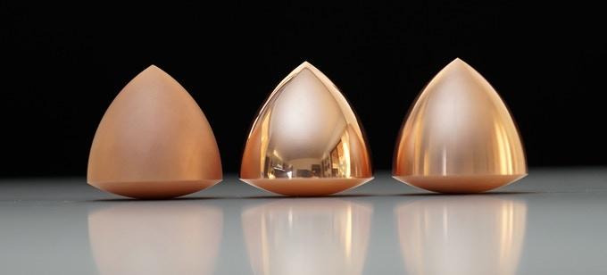 Copper with Surface Finishes: Satin, Mirror Polish, Machine