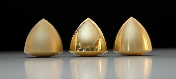 Brass with Surface Finishes: Satin, Mirror Polish, Machine