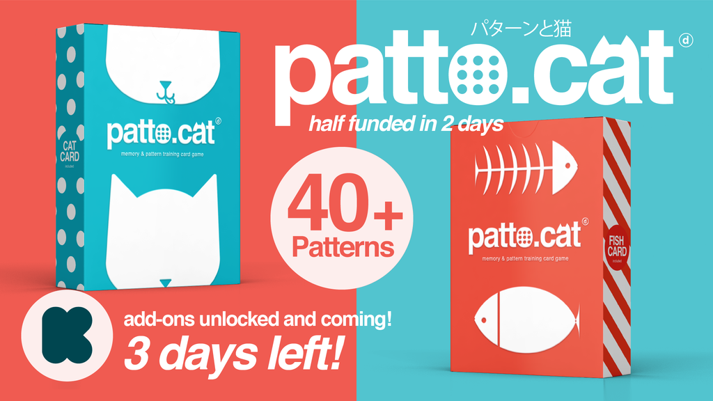 Patto Cat the visual challenge card game! project video thumbnail