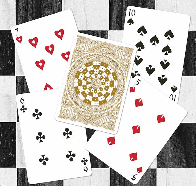 Number cards (Black deck)