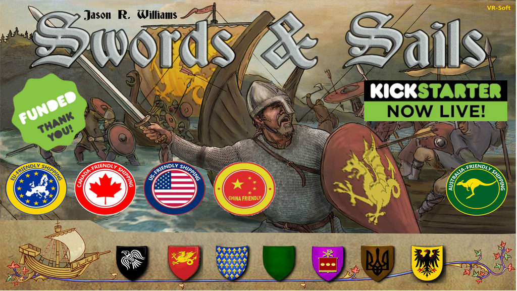 Swords & Sails, Rewrite History in 1000 AD project video thumbnail