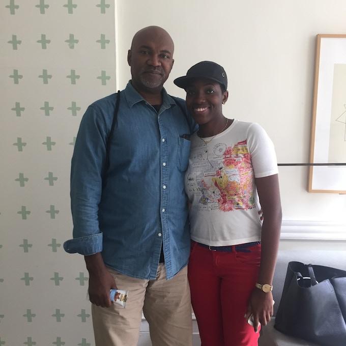 Writer Nelson George + Syreeta Gates