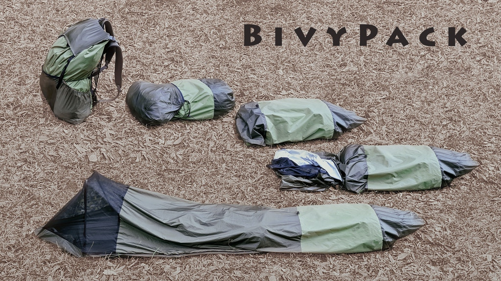 BivyPack - The backpack that transforms into a bivy tent. project video thumbnail