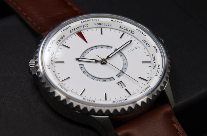 Travel Watch | 24 Time Zones On A World Timer by Havok