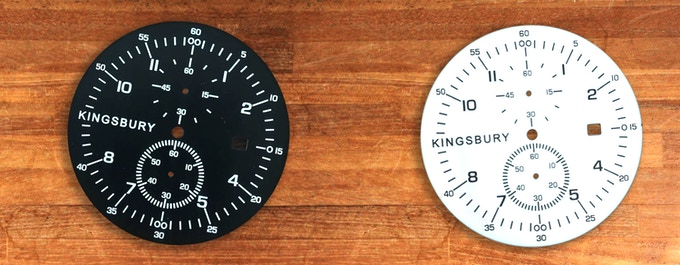 The MS1 Watch Dials