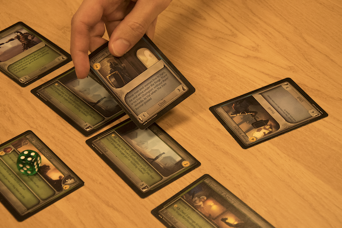 Attack! Attacking is just one way to seize victory in the brutal world of Scathia, but it is often efficient.