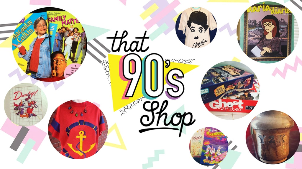 a94f380e That 90's Shop: Retro Fashion and Pop Culture Store in STL project video  thumbnail