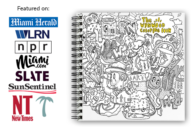 The Ultimate Street Art Coloring Book by Diego Orlandini — Kickstarter