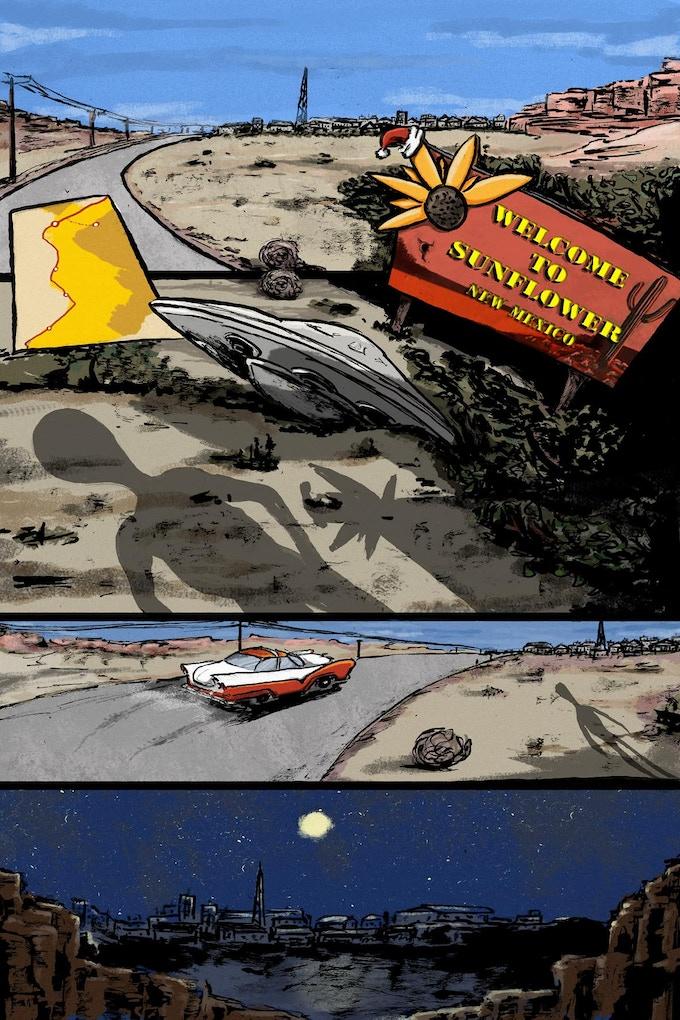 Rocket '58 Page 1 by Thodoris Laourdekis
