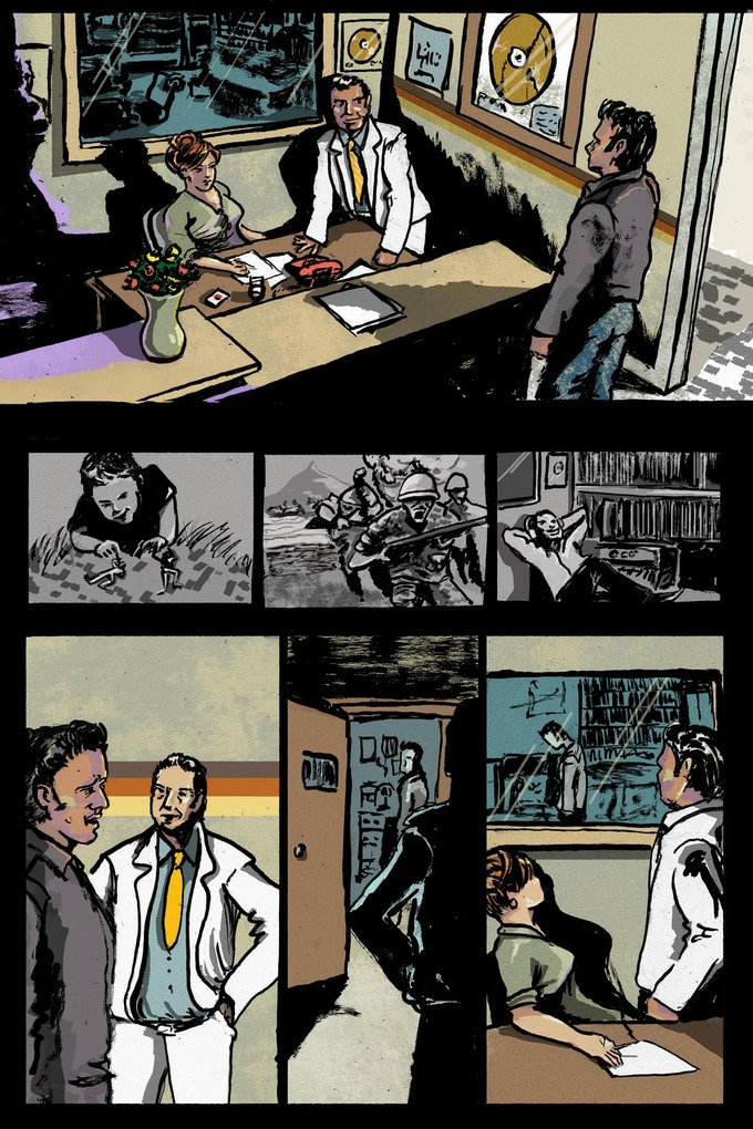 Rocket '58 Page 3 by Thodoris Laourdekis