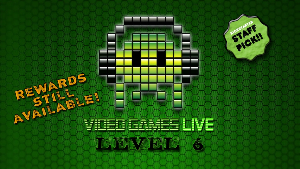 VIDEO GAMES LIVE: LEVEL 6 (album & movie!) project video thumbnail