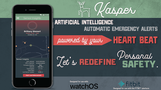 Kasper: Personal Safety with A.I. & Your Heart Rate