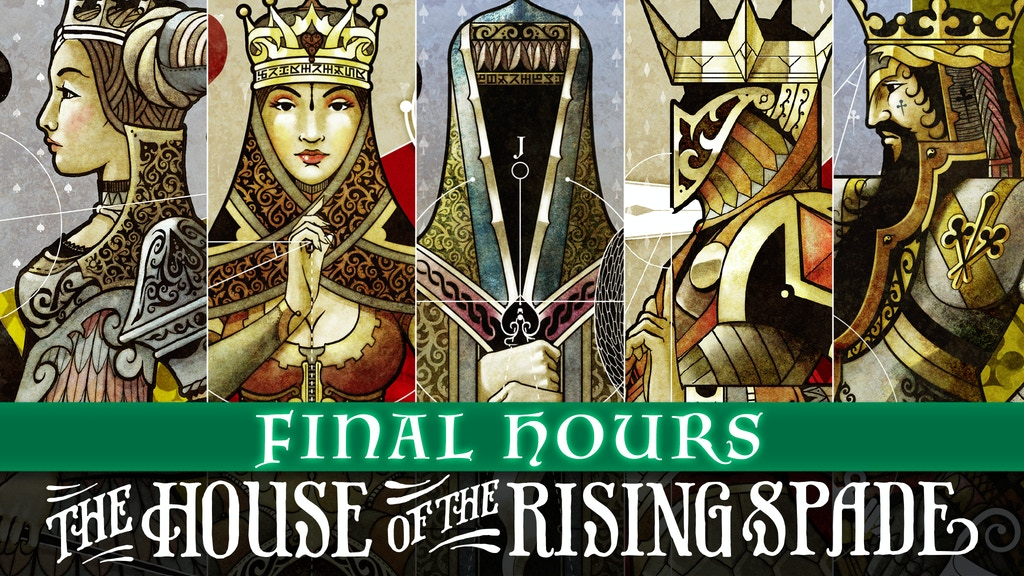 The House of the Rising Spade - Playing Cards project video thumbnail