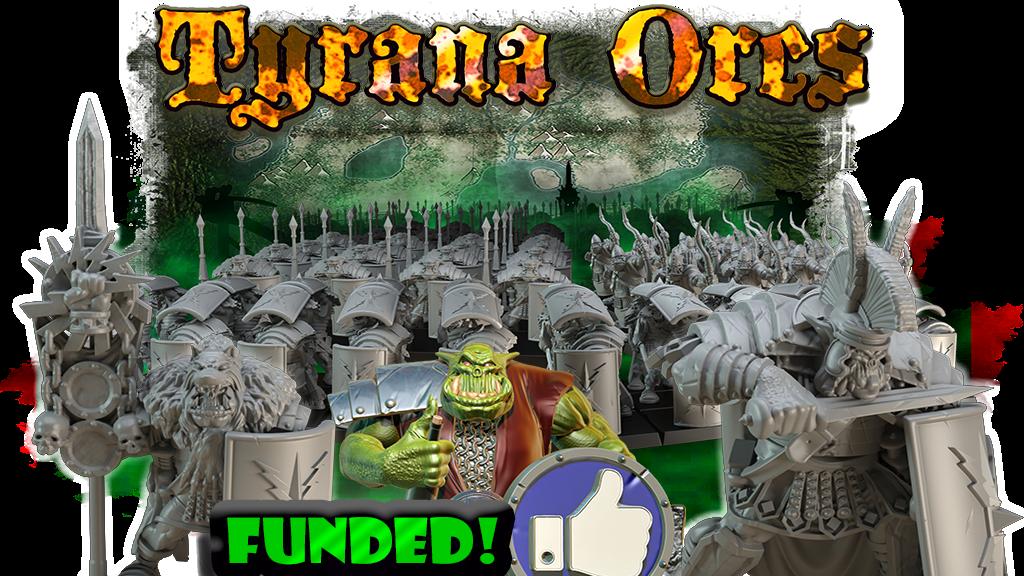 Tyrana Mountains Orcs Miniatures project video thumbnail