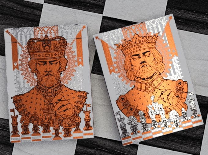 King's Game Playing Cards by Bona fide Playing Cards