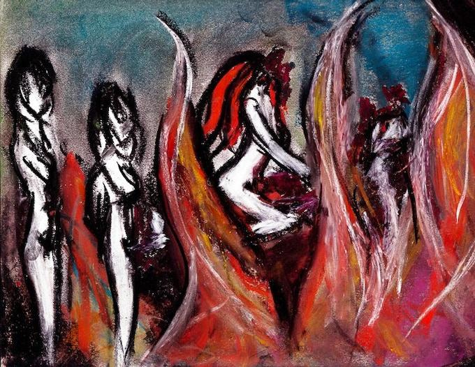 Tearful Surrender Concept Art by Cassandra Sechler.