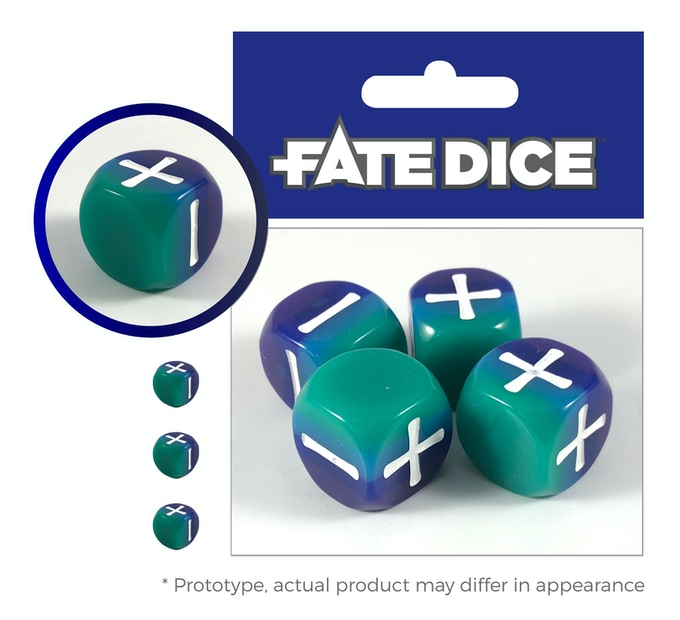 Aquatic dice