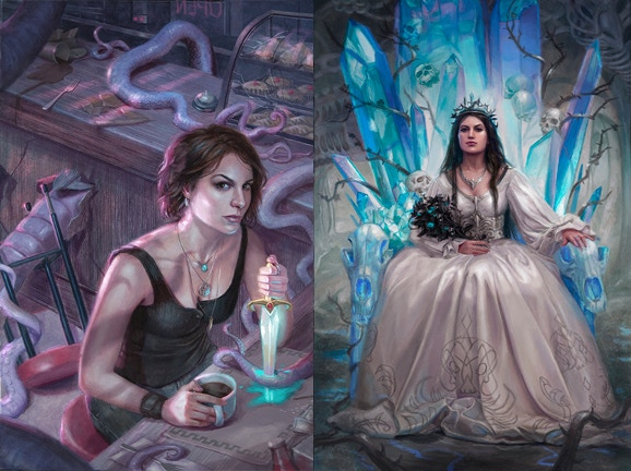 Lindsey's Art for Lady of Misrule and Closing Doors