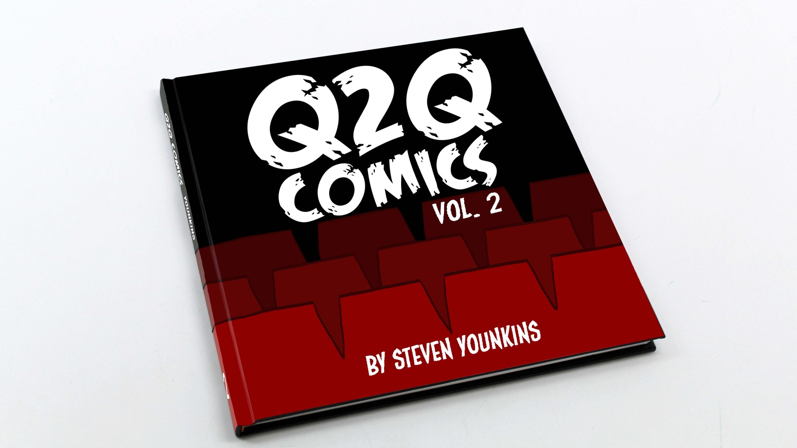The second collection of Q2Q Comics strips all nicely put together in a fancy-schmancy book!