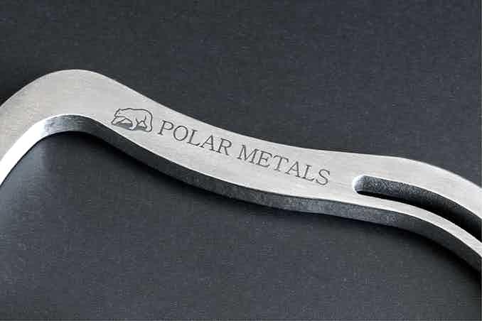 Solid 6AL4V grade 5 aircraft titanium.