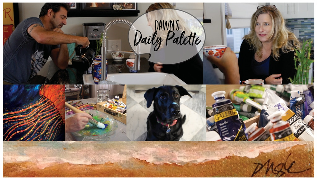 Dawn's Daily Palette - web series project video thumbnail