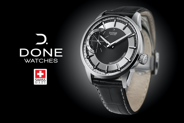 A Swiss hand-wound mechanical watch design with passion of watchmaking at an affordable price!