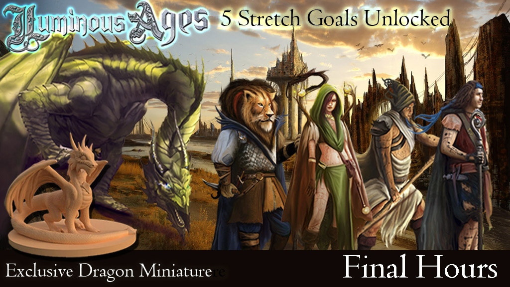 Luminous Ages Volume 1: Dragons, Monsters & Surreal Fantasy project video thumbnail