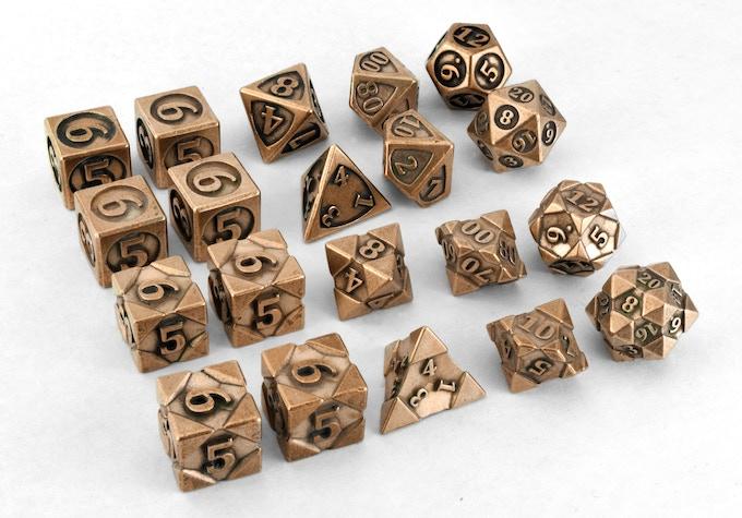 2x10die polyhedral set