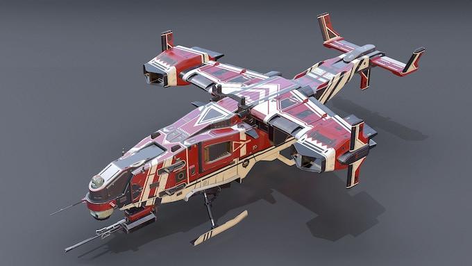 Tomahawk VTOL - backer exclusive skin