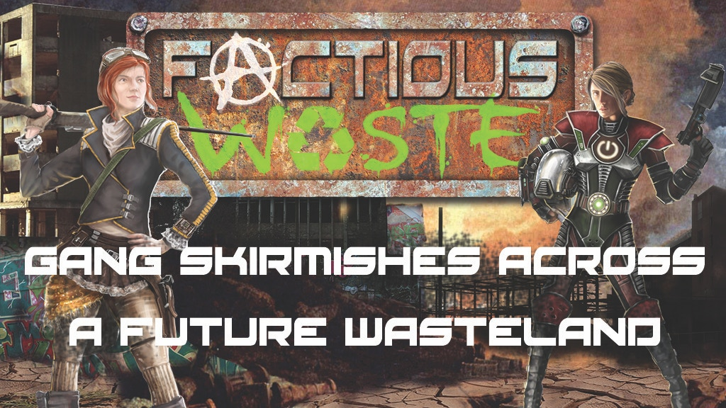 Factious Waste: printed rulebook for miniature skirmish game project video thumbnail