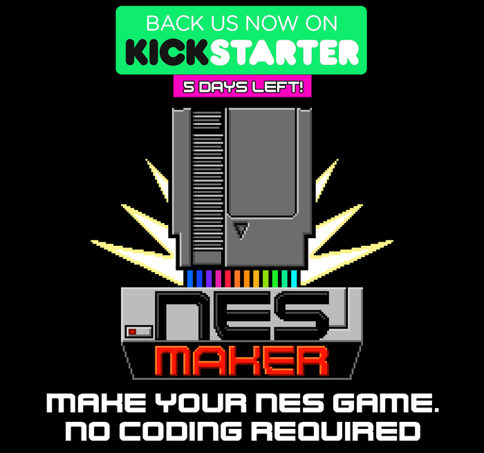 NESmaker - Make NES Games  No coding required  by Joe