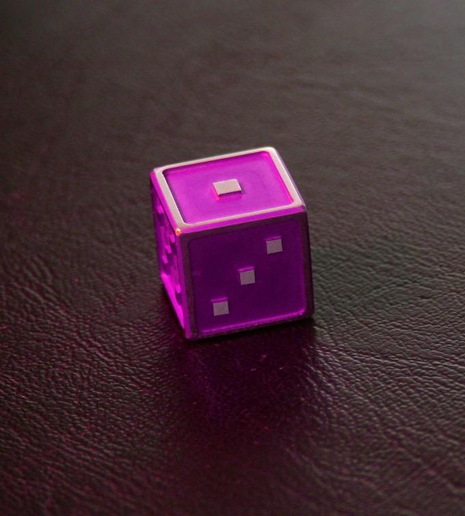 Purple anodized